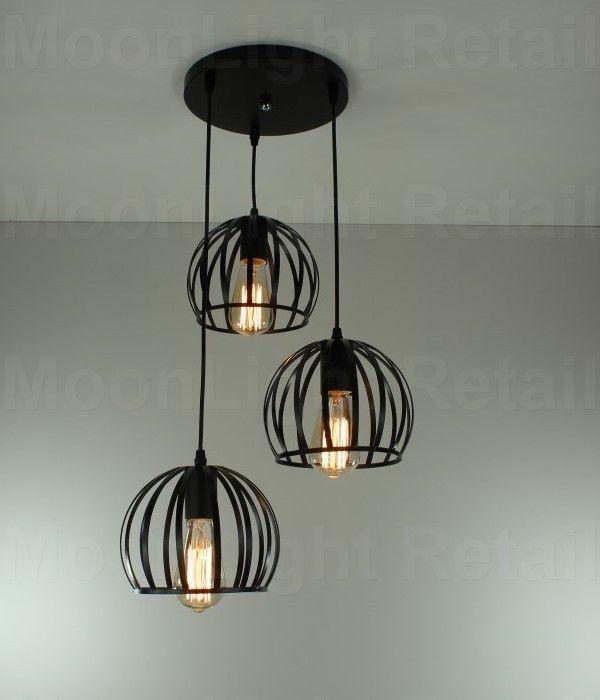 Triple Pendant Ceiling Light