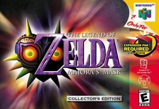 The Legend of Zelda: Majora's Mask GG Link