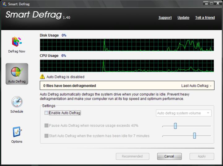 IObit Smart Defrag