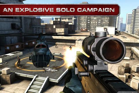 [iPad/iPhone]Modern Combat 3: Fallen Nation 現代戰爭3 - 墮落國度 特價$0.99