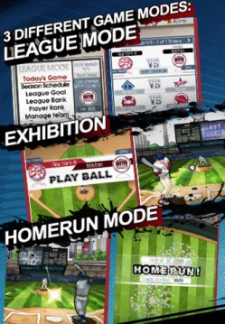 [限時免費]9 Innings Pro Baseball 2011 for iOS / Android 的手機棒球遊戲
