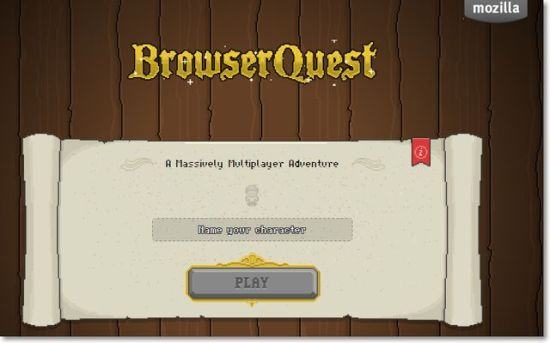 Browser Quest - Mozilla 用HTML5所製作的RPG遊戲