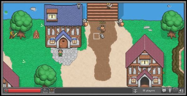 Browser Quest - Mozilla 用HTML5所製作的RPG遊戲
