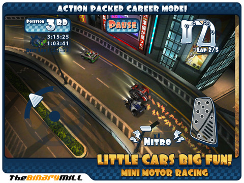 Mini Motor Racing HD - 超高質感的 iPad 賽車遊戲