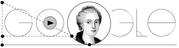 [Google Doodle]Maria Gaetana Agnesi 第一本完整的微積分的教科書作者