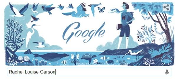 Rachel Louise Carso 美國海洋生物學家107歲誕辰