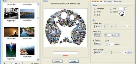 簡單製作照片拼貼效果 Shape Collage