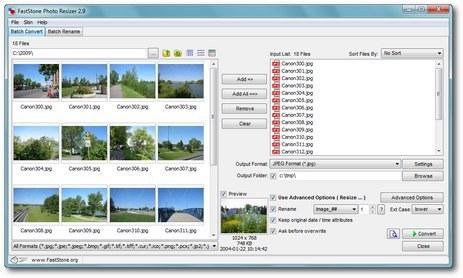 影像編輯軟體 FastStone Photo Resizer 免安裝
