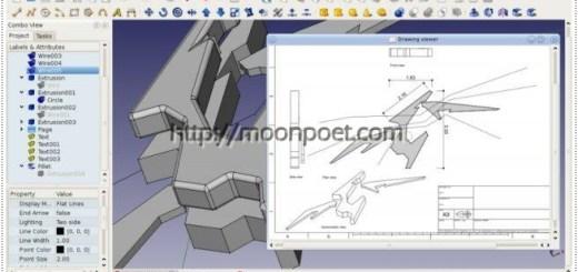 autocad替代軟體 - 免費工業繪圖軟體 FreeCAD