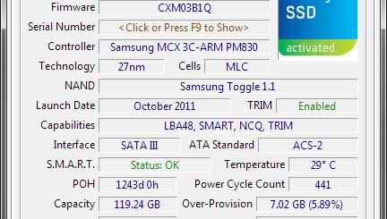 SSD硬碟檢測工具 - SSD-Z 免安裝版