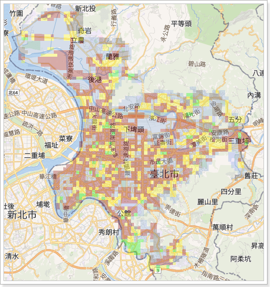台北市土壤液化區查詢系統 | 台北市土壤液化分析調查表