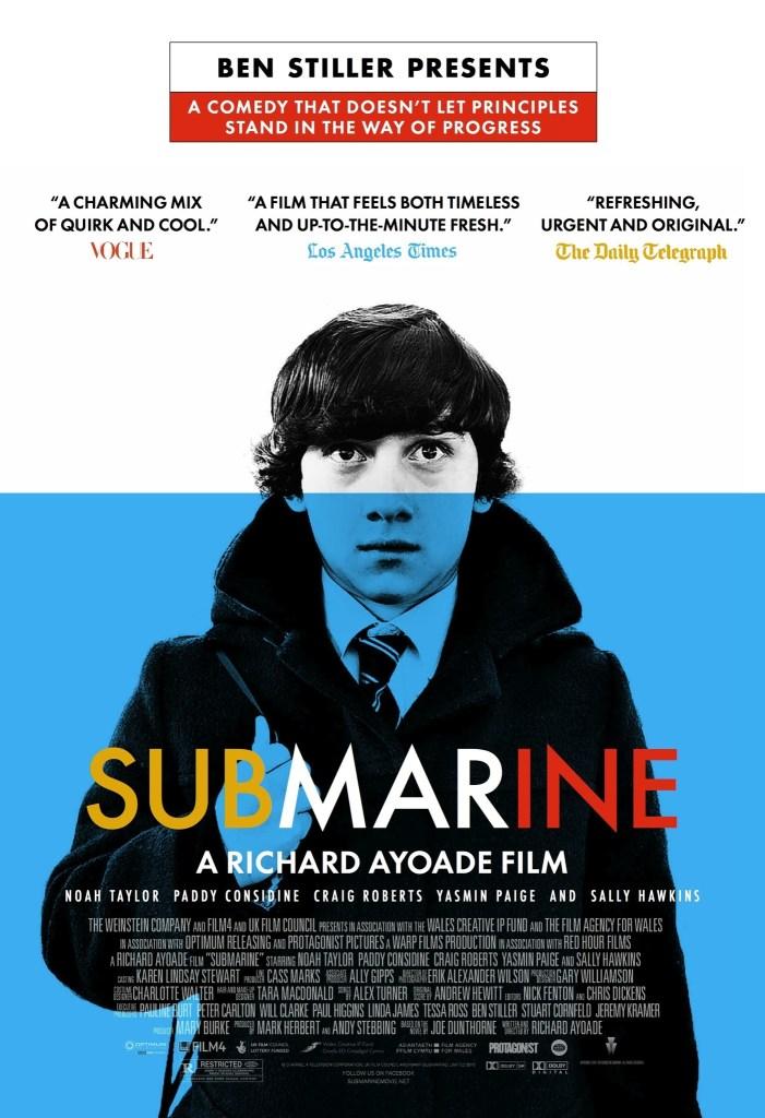submarine, richard ayoade, movies that inspire you to travelmoonlitekingdom, travel movies, movies that will inspire you to travel