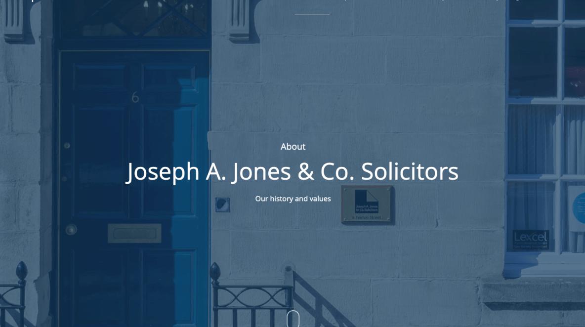 Joseph A Jones