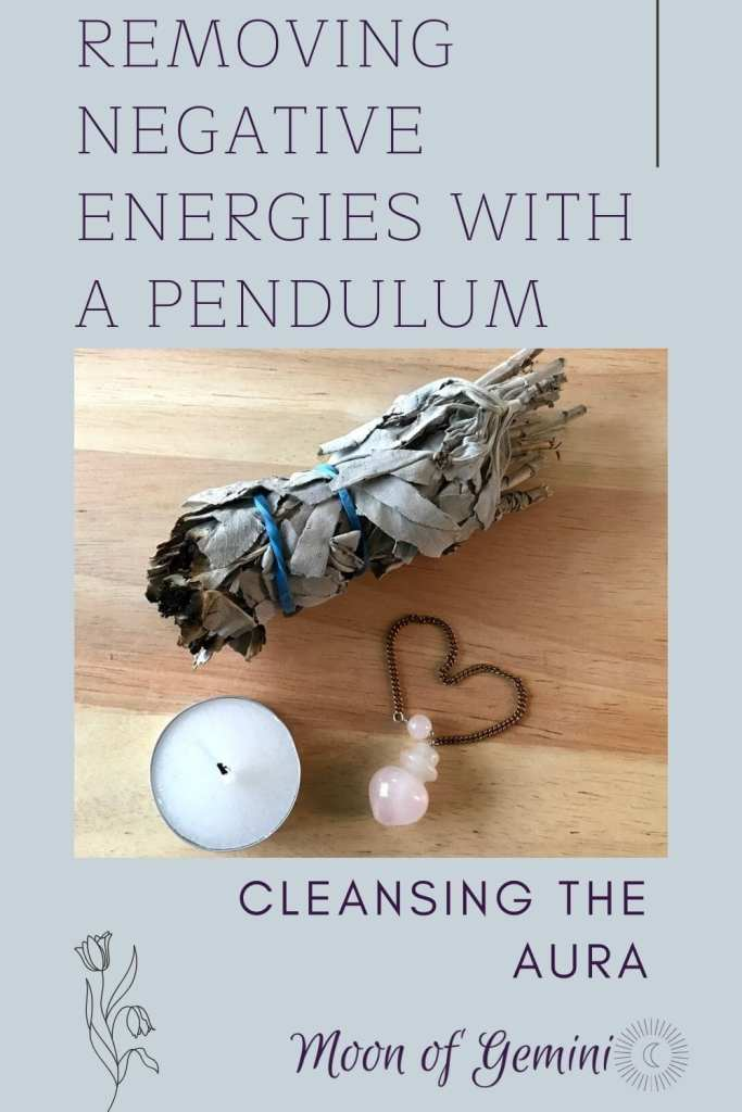 Cleansing ritual with a pendulum. How to use a pendulum to clear blocked energies.