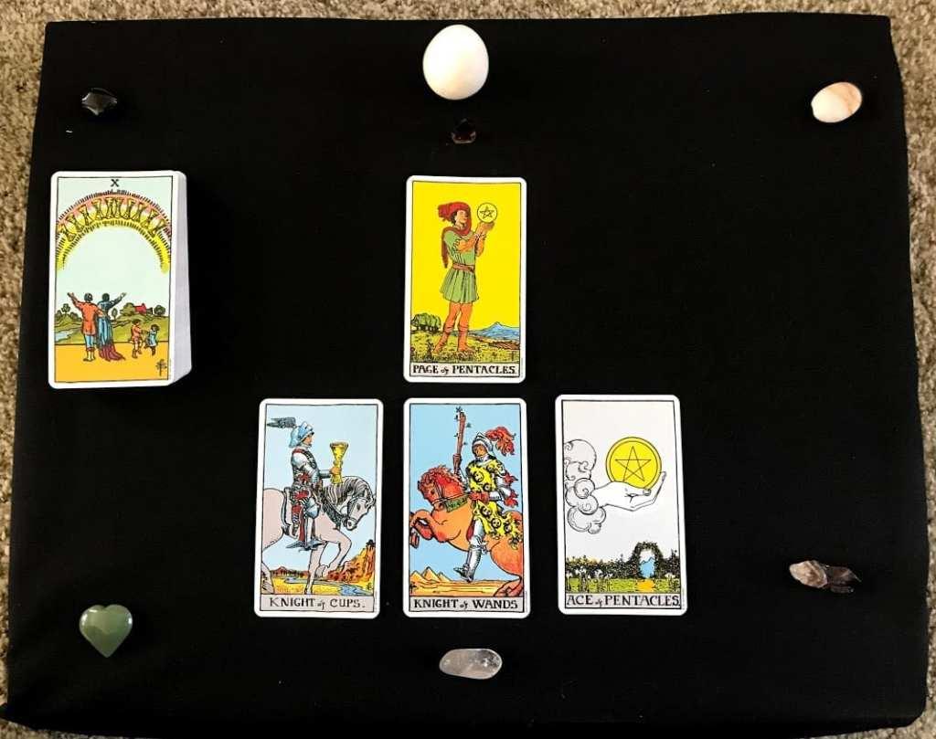 example tarot spread for trauma