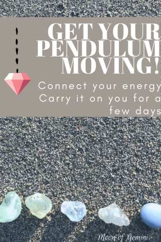 what to do when your pendulum isn't answering questions or moving at all