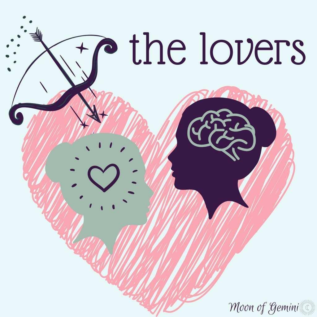 the lovers tarot card!