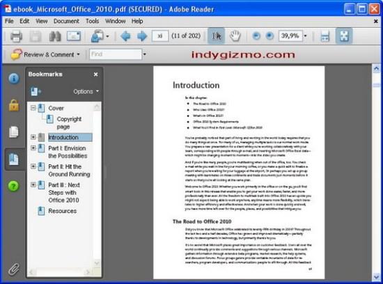 adobe reader 11 繁體中文版下載 PDF閱讀器