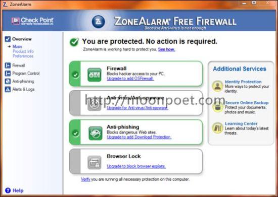 免費木馬防護軟體 ZoneAlarm Free Antivirus + Firewall