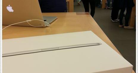 Macbook Pro Retina 13 開箱 我的第一台蘋果筆電