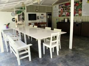 Main Lodge: Dining area