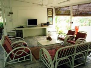 Garden Pavilion: TV Lounge