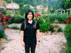 Sarah, from Singapore. Volunteered with us on July 2014.