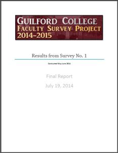 Survey 1 Report