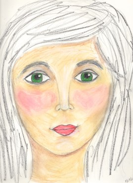 Face Drawn Using D.W.'s Video Guidance