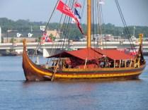 Viking tall ship