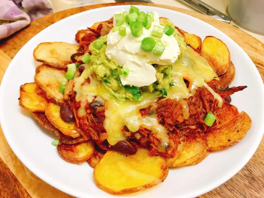 Brisket Chili Nachos