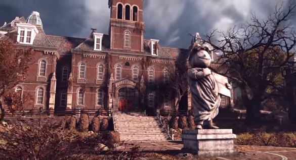 Fallout76 Woodburn Hall