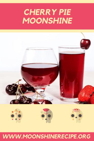 Cherry Pie Moonshine Cocktail Drink Recipe 2