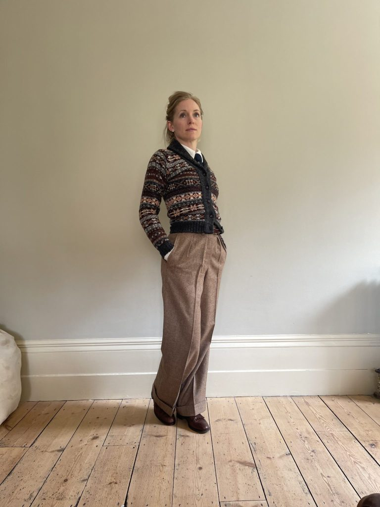 Marlene trousers oldfield clothing