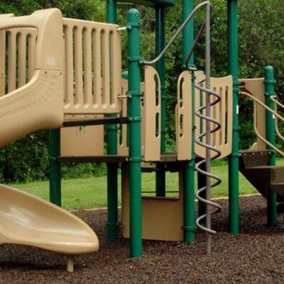 Ground Smart Rubber Mulch and playground