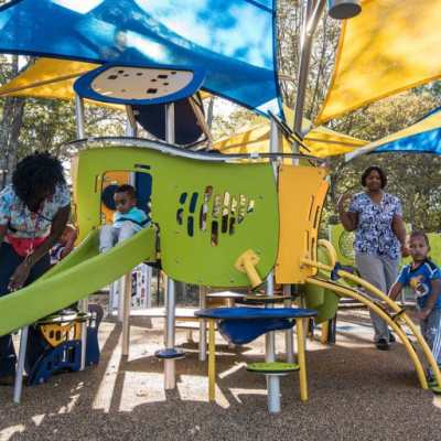 Smart Play with shade at Head Start Center