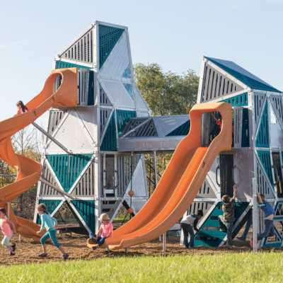 alpha link towers playground