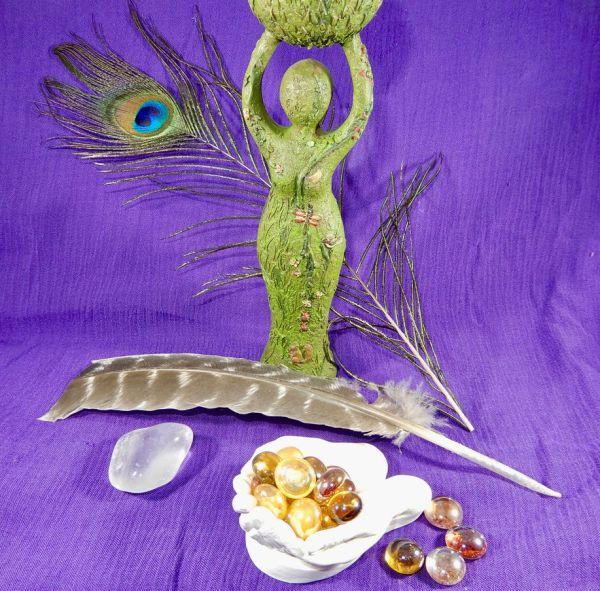 Reiki Statue Feather