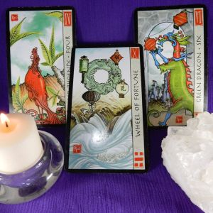 Three Card Reading - Mini Feng Shui Tarot Card Reading
