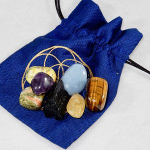 Chakra Healing Kit - Moon Soul Magic - Blue