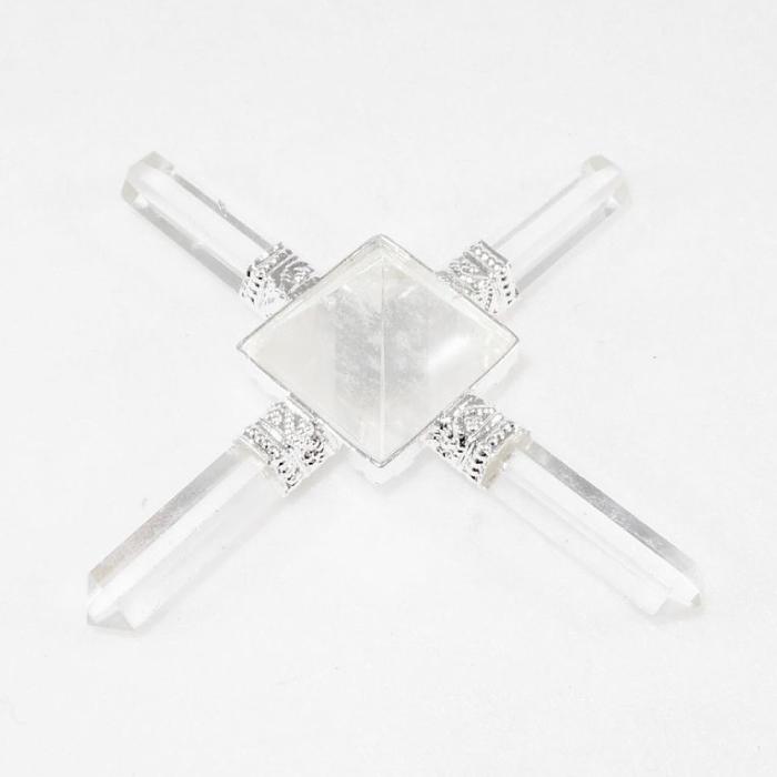 Healing Talisman Four Elements Clear Quartz