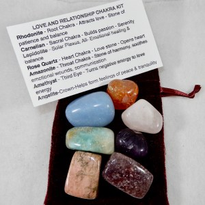 Love and Relationship Chakra Kit