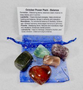 October Balance Pack