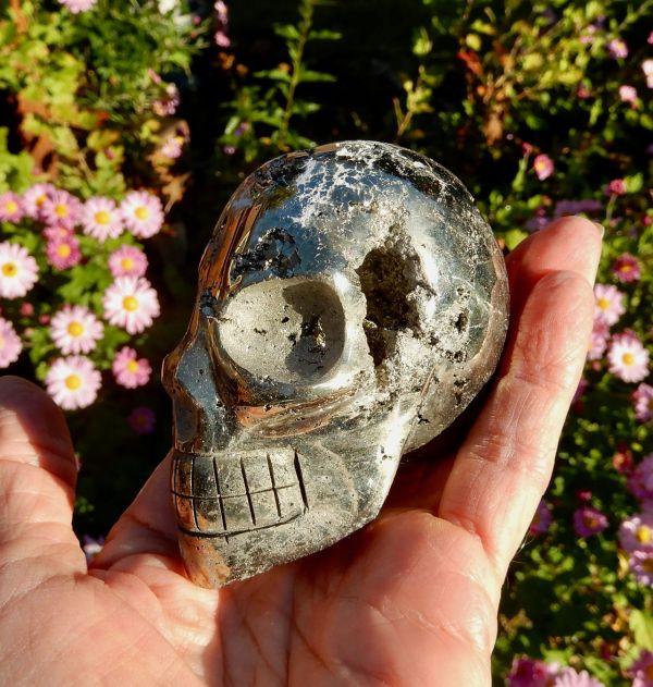 Pyrite Lg Skull3