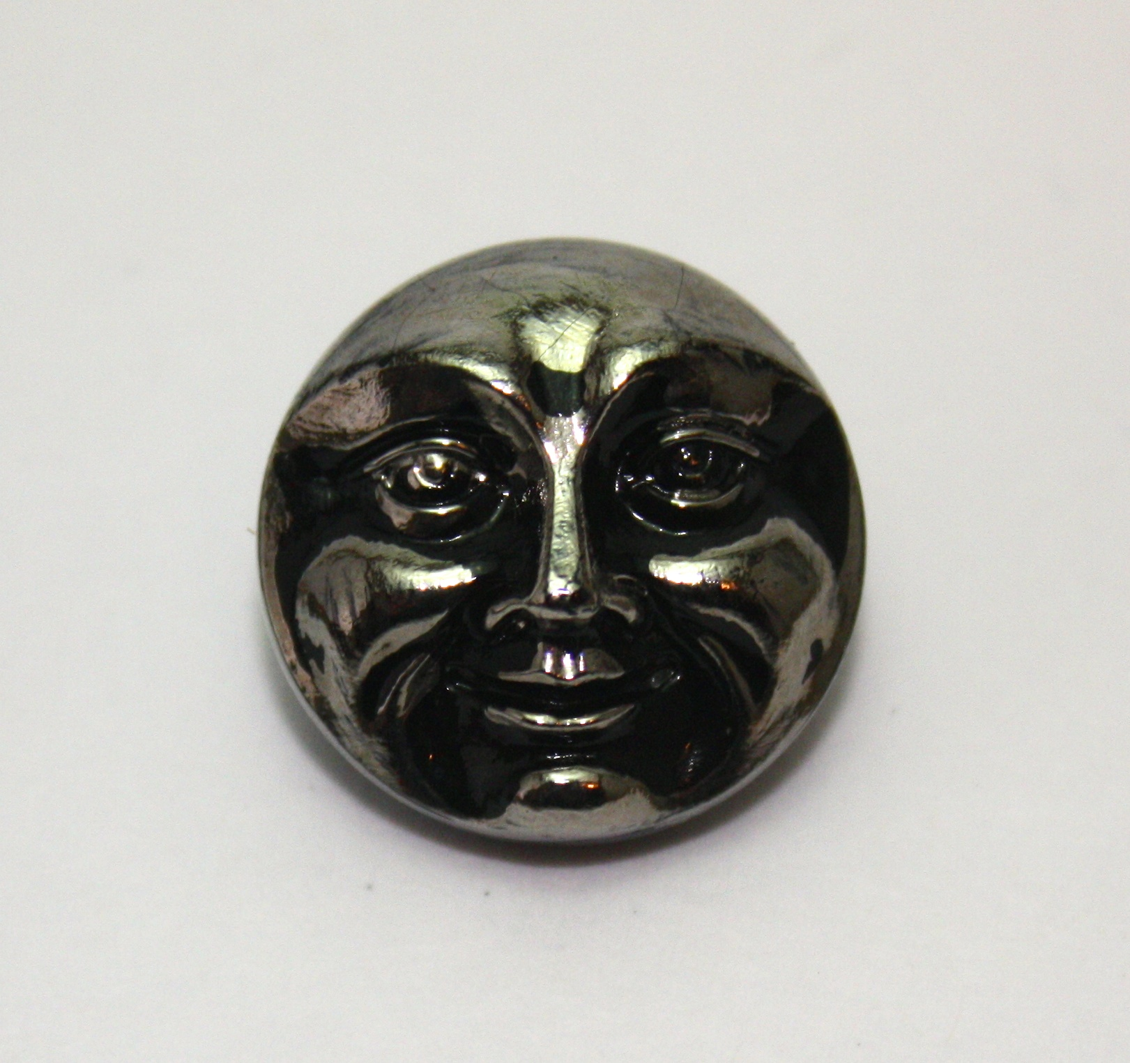 Moon Face: black/silver