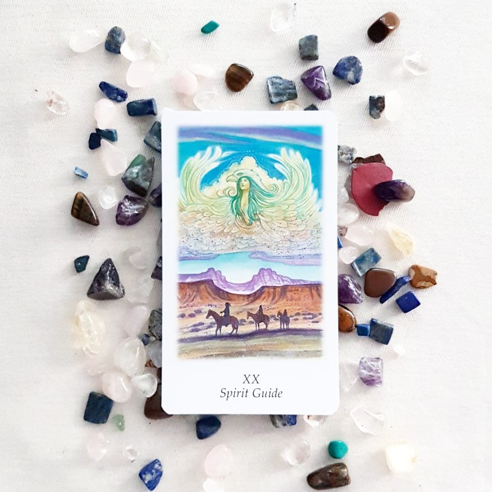 The Vision Quest Tarot - Spirit Guide