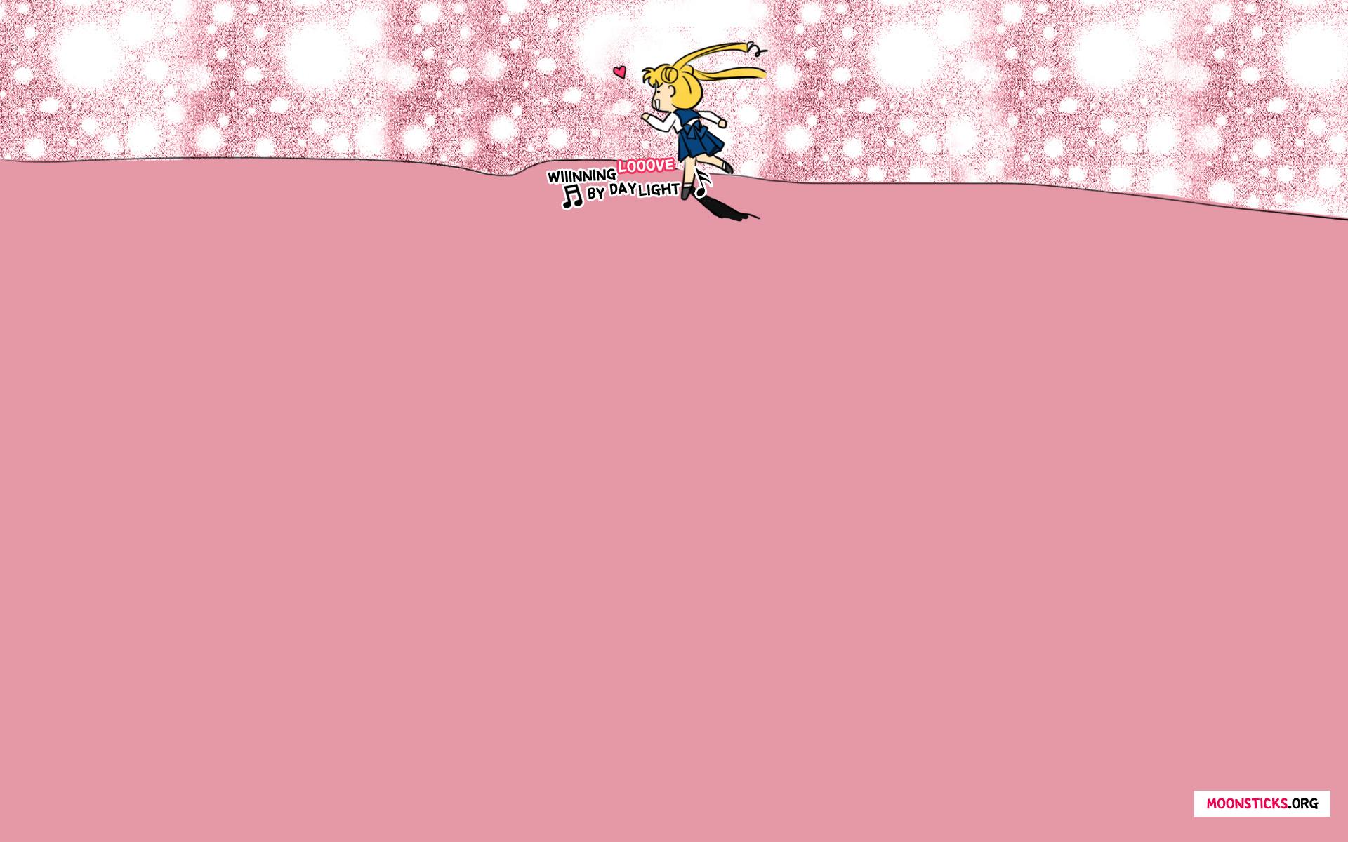 Pink Fall Desktop Wallpaper Sailor Moon Wallpapers Moonsticks