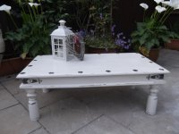 Rustic , Shabby Chic Coffee table # # # SOLD ...