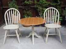 Lovely Shabby Chic Bistro Table & 2 Chairs # Sold