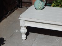 LARGE, SHABBY CHIC , FRENCH COUNTRY , COFFEE TABLE ...